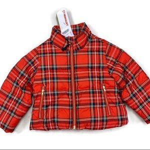 Crewcuts Tartan Plaid Primaloft Puffer Coat NEW